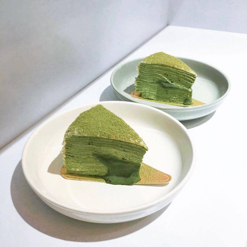 LamLamLi抹茶流心千層蛋糕