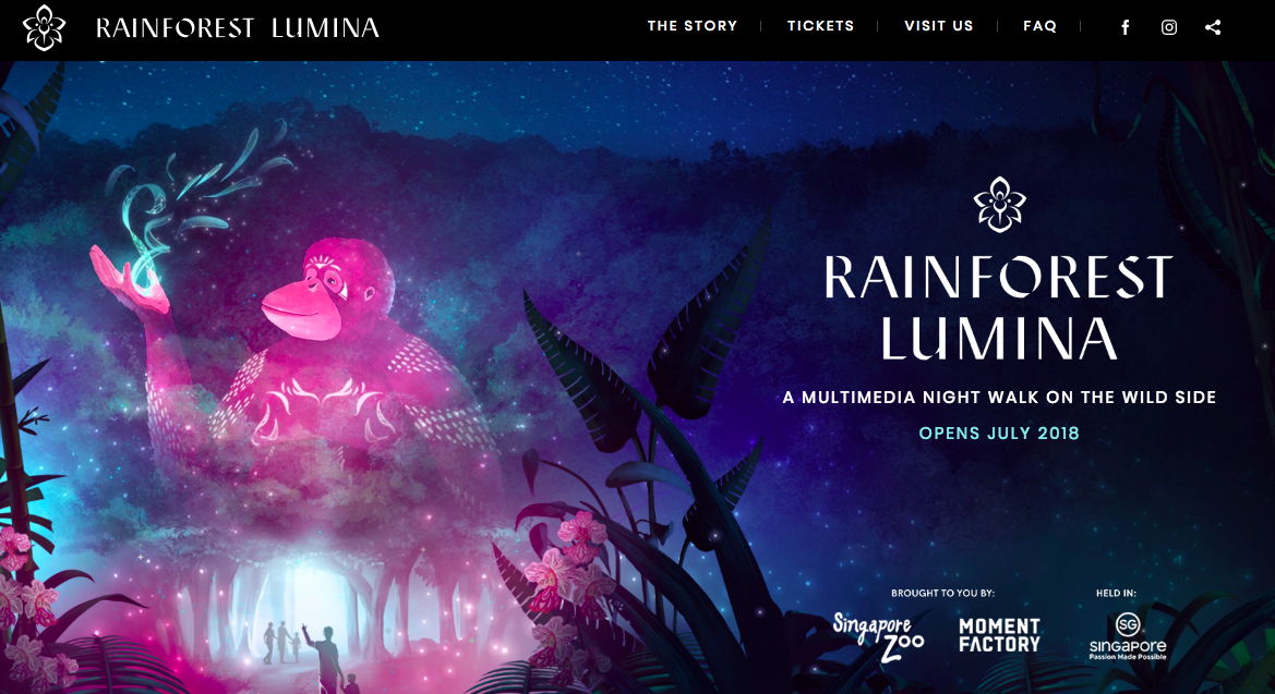 Singapore Rainforest Lumina